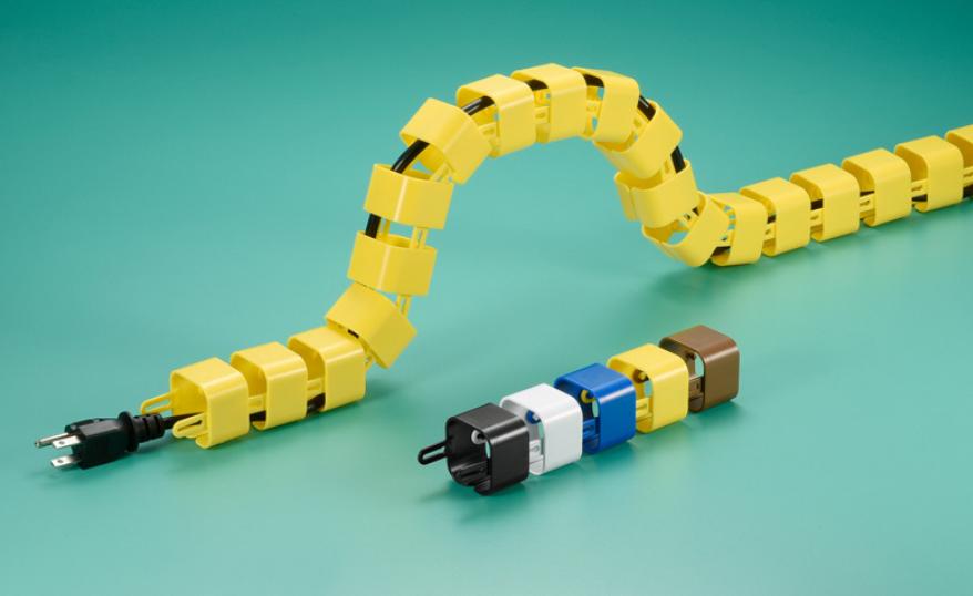 Giá đỡ cáp module giúp phân loại dây điện dễ dàng hơn.
