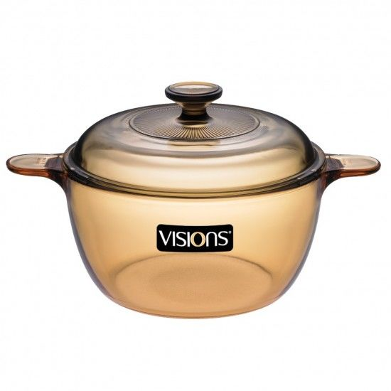Visions VS 2.5 glass pot made of heat-resistant glass material that is resistant to heat shock and holds heat well, can be used in the microwave, oven, refrigerator or dishwasher, easy to clean, no odor .  2.5 liter capacity pot, weight 2.2 kg, anti-flood design, easy to escape, anti-slip handle knob.  Products being discounted 10% is 1.44 million VND.