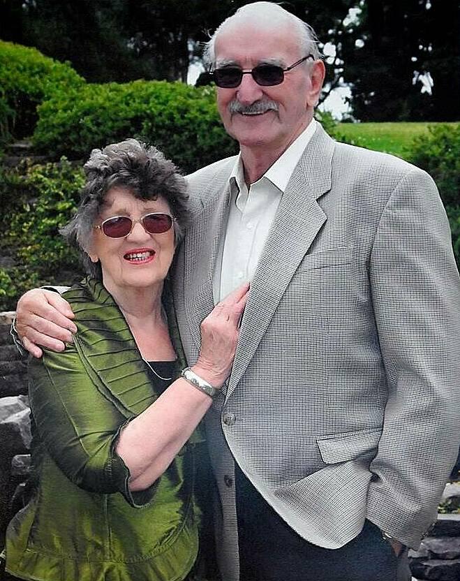 Ảnh chụp nhân dịp sinh nhật 80 tuổi của Kevin và Maureen. Ảnh: George Novak.