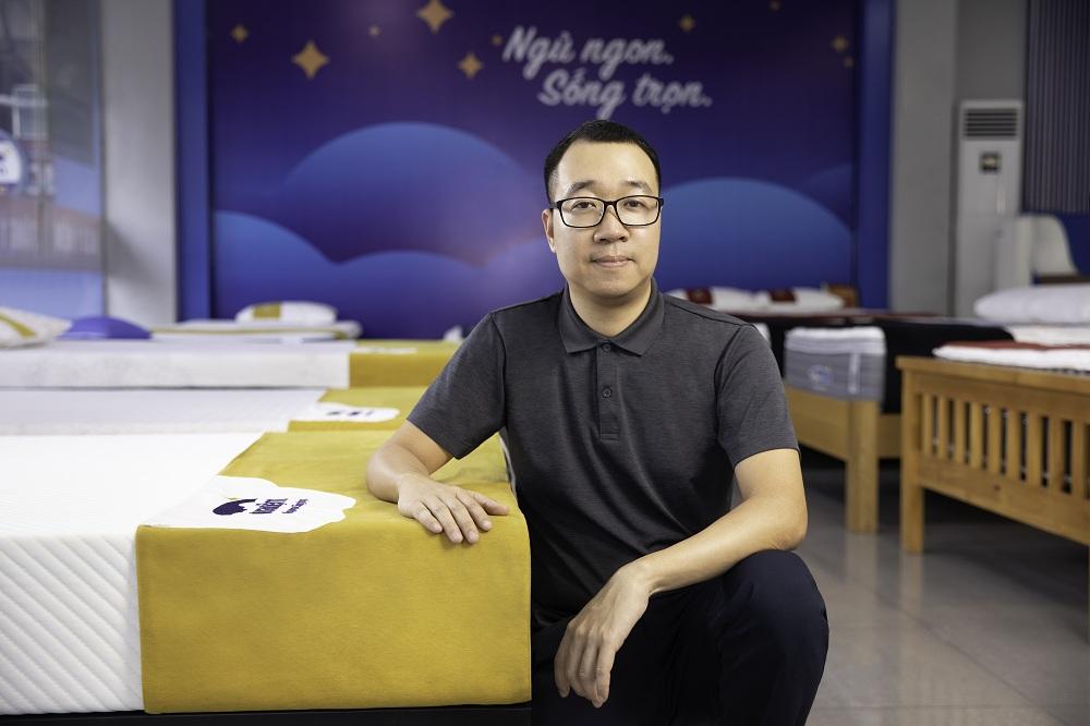 Hoang Tuan Anh, CEO of Vua Nem.