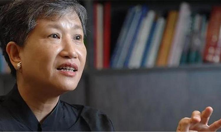 Nữ diễn giả, nhà tâm lý học Hồng Lan. Ảnh: mytruthmedia.