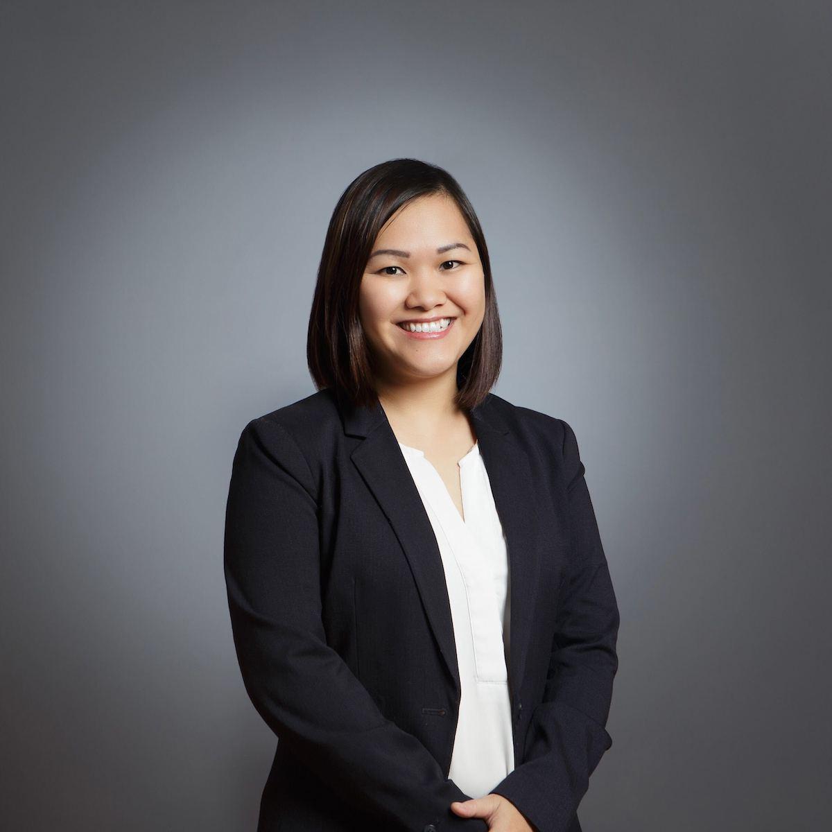 Chị Hầu Lý, lãnh đạo của nhóm Chính sách hỗ trợ đối tác tài xế tại Gojek Việt Nam.