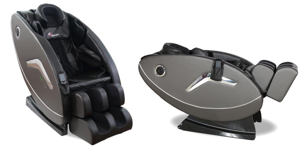 Ghế massage Elip Rhodi thiết kế khung thép, bên ngoài bọc nhựa và da, có bánh xe giúp dễ di chuyển. Trục massage hình chữ L ôm trọn cơ thể. Ghế được trang bị con lăn massage theo công nghệ 3D, massage đến các huyệt đạo, 108 túi khí massage toàn thân với chức năng xoa bóp nhẹ nhàng nhiều chức năng trên cơ thể: đầu, vai, hông, tay, bắp chân và bàn chân. Nhiệt hồng ngoại 40 độ giúp lưu thông máu tốt hơn. Một chu kỳ massage kéo dài 15 phút. Ghế có thể điều khiển bằng remote cảm ứng. Sản phẩm có giá niêm yết 43 triệu đồng, đang được ưu đãi 37% òn 26,9 triệu đồng.