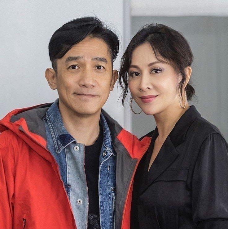 Vợ chồng Lương Triều Vỹ và Lưu Gia Linh. Ảnh: IG