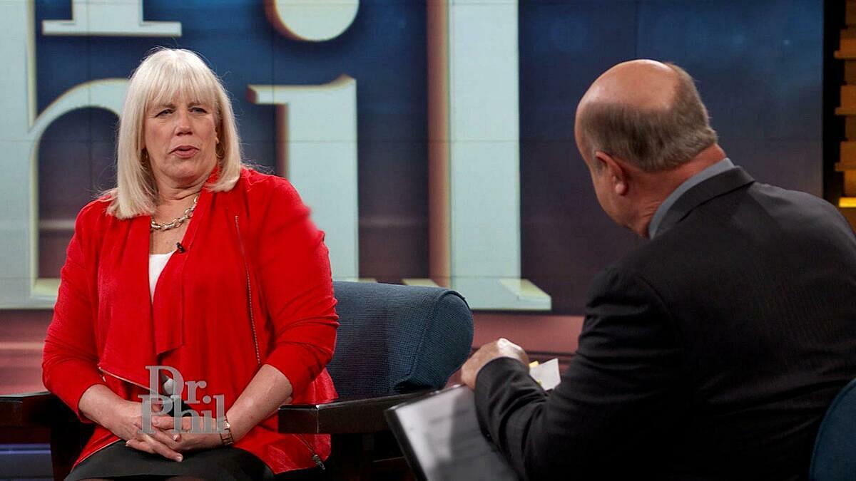 Bà Cassey gặp chuyên gia mối quan hệ Dr. Phil xin lời khuyên sao các cuộc hôn nhân của bà không thể kéo dài lâu. Ảnh: Dr. Phil.