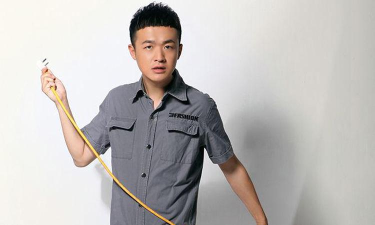 Nam diễn viên Bao Bối Nhĩ. Ảnh: sina.