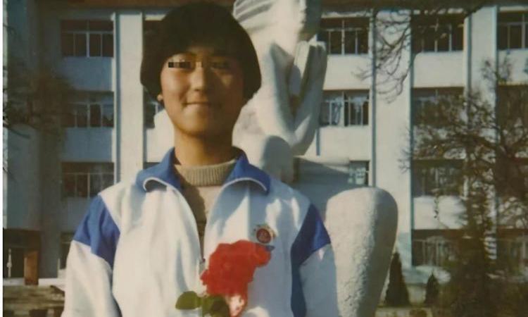 Cao Tây hồi là sinh viên Đại học sư phạm Liêu Ninh. Ảnh: qq.