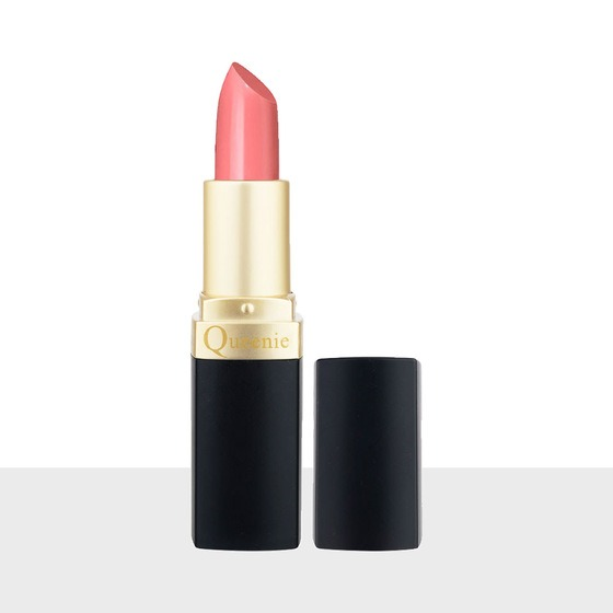 Queenie 3.5g matte lipstick has three tones of orange, dark orange and red for women to choose from.  The soft, smooth, rich lip balm extracted from Macadamia seeds, Shea butter in Africa, helps to achieve a standard color, long-lasting but does not dry out the lips.  The product is priced at 162,500 VND, 50% lower than the original price.
