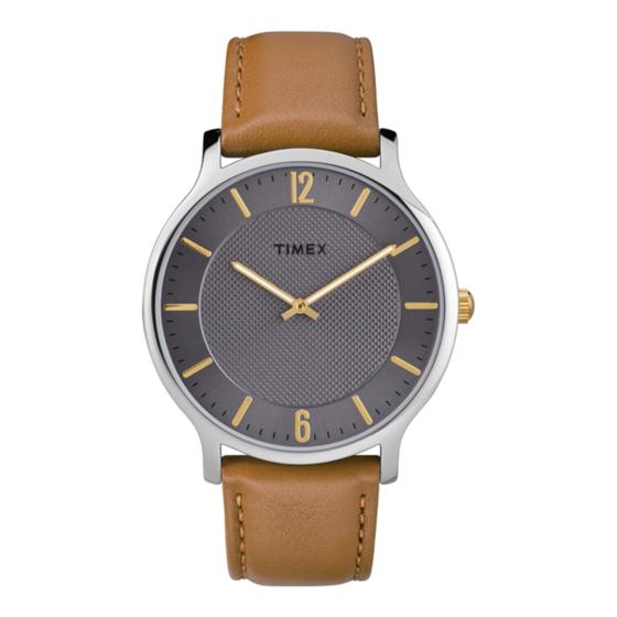 Đồng hồ Timex Metropolitan TW2R497001.780.600đ(-42%)Màu sắc : NâuĐường kính mặt :40mmDây :20mmĐộ dày mặt:6.5mmLoại mặt kính : Kính khoángDây da thật. Chống nước : 30mLoại máy đồng hồ : QuartzBảo hành : 12 tháng.