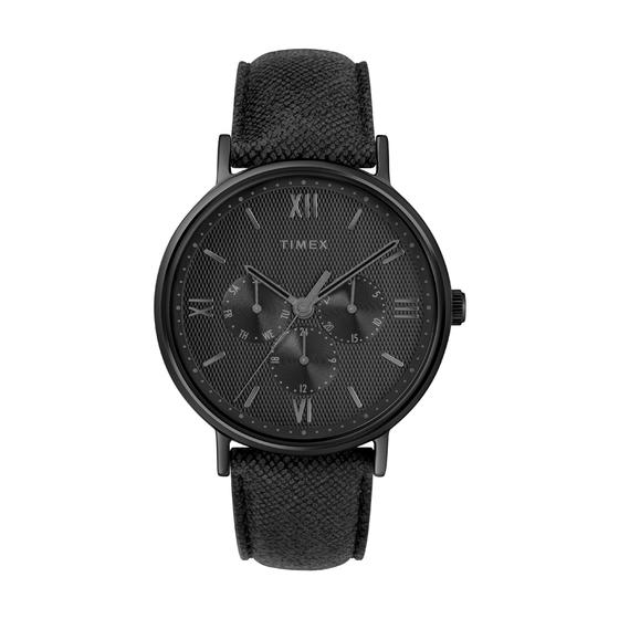 Đồng hồ Timex Southview Multifunction- TW2T35200 giảm 2.070.600đ(-42%)Màu dây: ĐenMàu mặt: ĐenĐường kính mặt : 41mmDây : 20mmĐộ dày mặt: 8.5mmLoại mặt kính : Kính khoángDây daChống nước : 30mLoại máy đồng hồ : QuartzBảo hành : 12 tháng.
