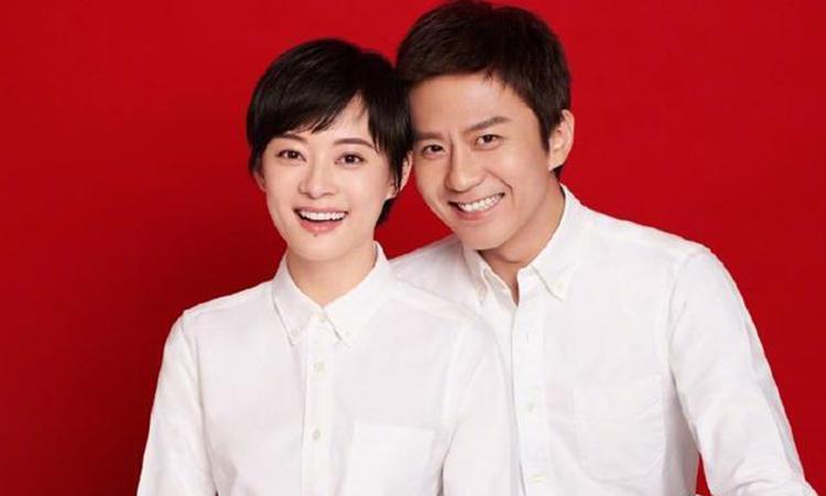 Cặp đôi Tôn Lệ- Đặng Siêu đã có 9 năm hạnh phúc bên nhau. Ảnh: chinanews.