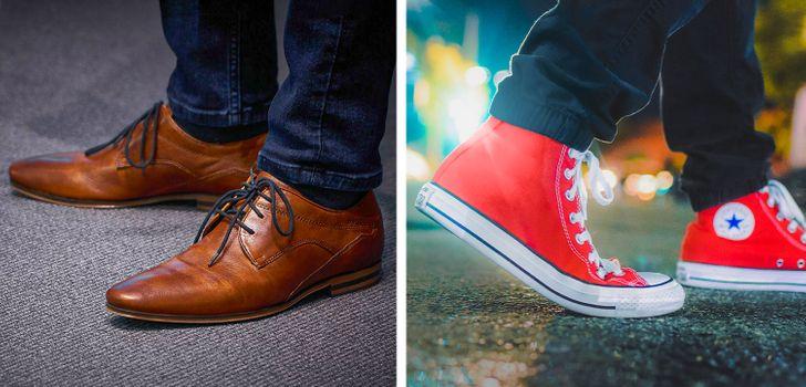 Hiệu ứng giày converse đỏ cho thấy thời trang phá cách mang lại tác dụng tốt trong một số trường hợp. Ảnh: Pixabay.