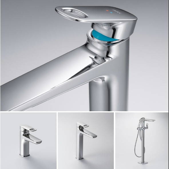 Vòi chậu s600 rất tiện nghi với các góc bo tròn, thuận tiện cho việc vệ sinh và bề mặt nhẵn chống bám nước.