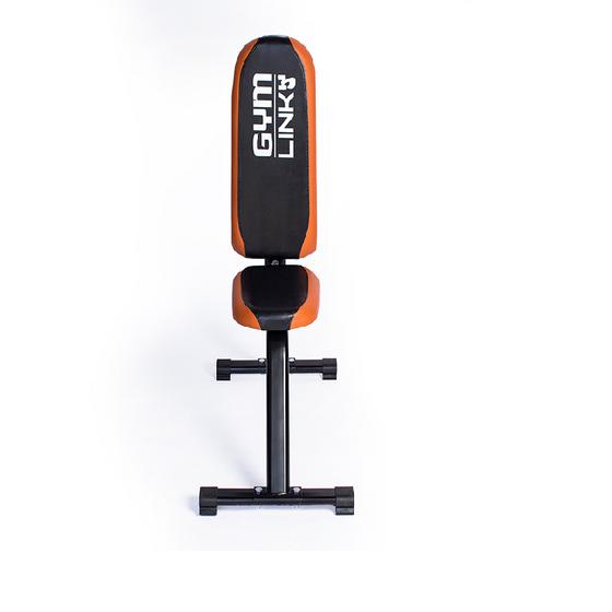 Ghế ngồi tập tạ đẩy vai Gymlink giảm 979.000đ (-25%)Kích thước :     110cm x 65cm x 40cmChất liệu chính : Khung Sắt sơn tĩnh điện, Yên bọc PU cao cấp.