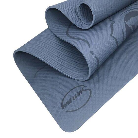 Thảm tập yoga Sportslink Sunny định tuyến 482.000đ (-25%)Kích thước tiêu chuẩn 183 x 61 cm, dày 0,8cm.Cân nặng của thảm khoảng 1,3kgThảm có đường kẻ định tuyến đáp ứng được tiêu chuẩn của môn Yoga, giúp bạn tập luyện dễ dàngHình thức: Thảm được đúc 1 lớp nguyên miếng, màu sắc tinh tế, tạo cảm hứng tập luyện.