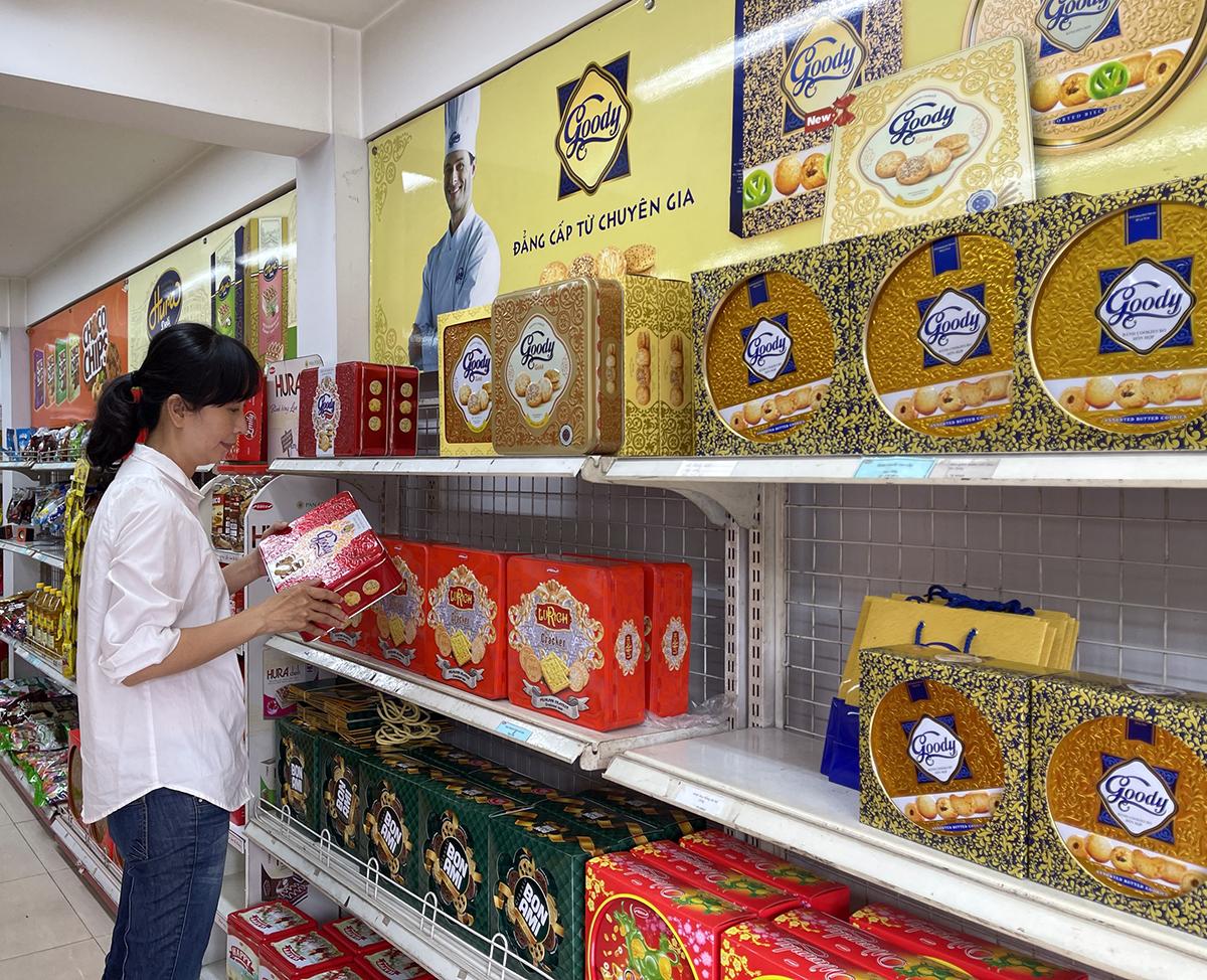 Bánh quy Goody được người dùng lựa chọn làm quà tặng dịp xuân Tân Sửu.