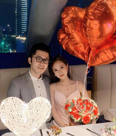 Kỉ niệm 3 năm ngày cưới và cũng là 6 năm ngày đầu gặp nhau của vợ chồng Lê Thị Thương. Ảnh: Nhân vật cung cấp.