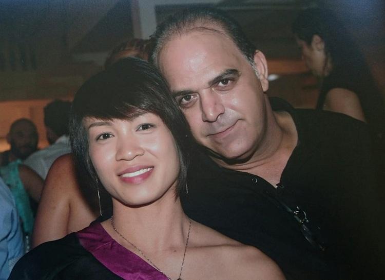 Chị Mai là giúp việc, nhân viên của công ty anh Marios trước khi trở thành vợ anh năm 2015. Ảnh: Nhân vật cung cấp.