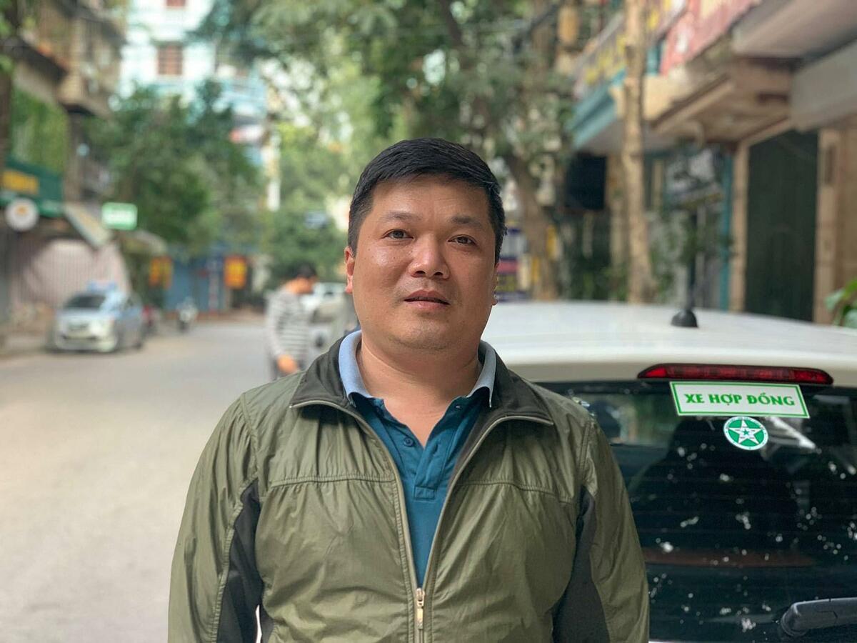 Anh Nguyễn Vân Hà, đối tác tài xế GrabCar.