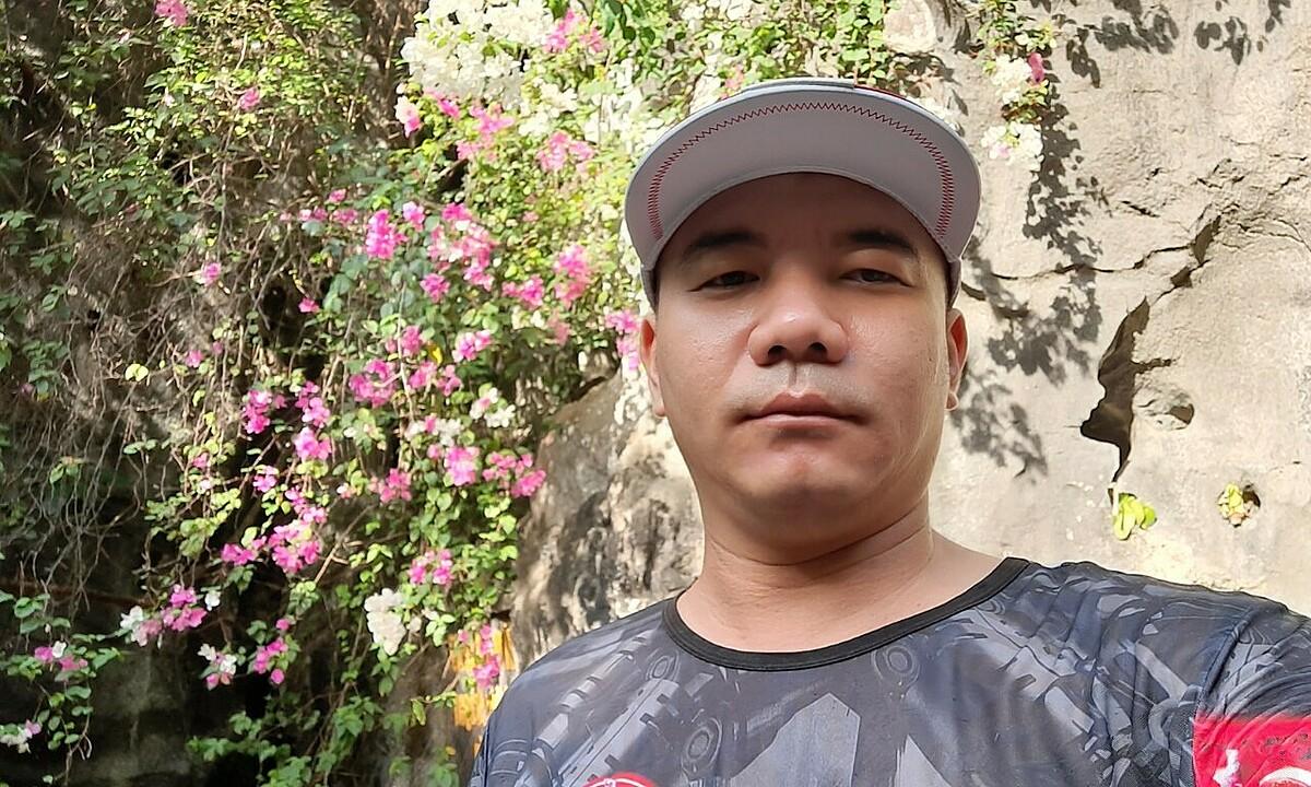 Anh Nguyễn Thái Sơn là tài xế giúp Nadja tìm lại đồ thất lạc. Ảnh: Nhân vật cung cấp.