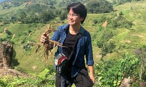 Chàng trai Hà Nội vào rừng rèn bản lĩnh, lập nghiệp