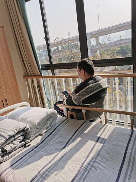 Cố vào viện dưỡng lão từ năm 39 tuổi. Ảnh: qq.