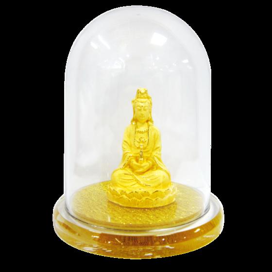 Phật Bà Độ Thế - quà tặng mỹ nghệ Kim Bảo Phúc phủ vàng 24K DOJI DJDE1064 - Vàng 1.260.000đ(- 25 %) Sản phẩm được để trong hộp kính  - Được làm bằng đồng phủ vàng 24k  - Thích hợp để ở bàn làm việc, trên xe oto...  - Kích thước: 7x4x8cm sản xuất bằng công nghệ hiện đại với lớp bọc bên ngoài bằng vàng 24K cùng các biểu tượng phong thủy Á Đông thu hút năng lượng tích cực, biểu thị ý nghĩa sâu sắc và chân tâm thành ý sẽ là món quà vô cùng sang trọng và ý nghĩa với mỗi người.