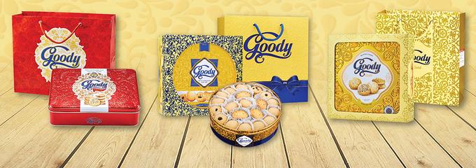 Ba người tham dự đoạt giải cuộc thi sẽ nhận được những phần quà bánh Goody. Ảnh: Bibica.