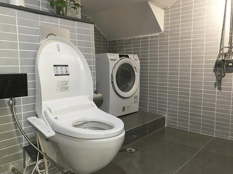 Cải tạo phòng tắm cho vợ chồng trẻ