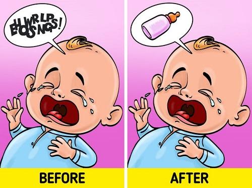 Sự thay đổi chất xám giúp phụ nữ hiểu ngôn ngữ của con. Ảnh minh họa: Brightside.