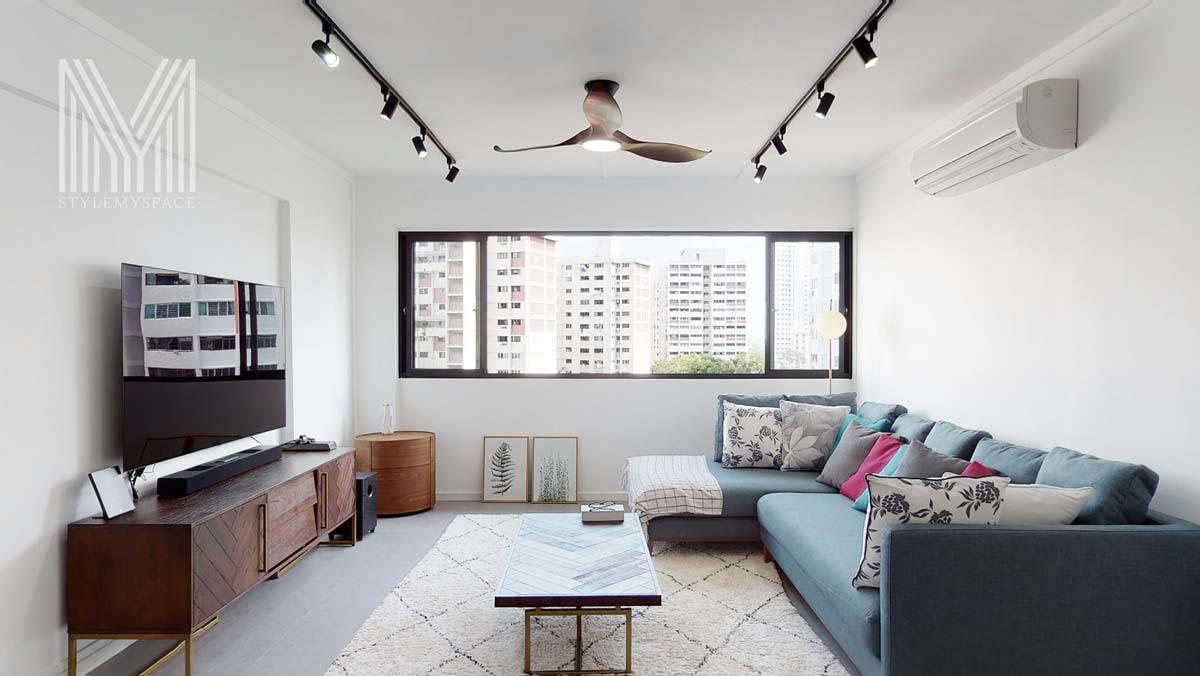 Các loại nội thất mềm như thảm, đệm... cũng chính là những thỏi nam châm hút bụi cho ngôi nhà của bạn. Ảnh: Stylemyspace.