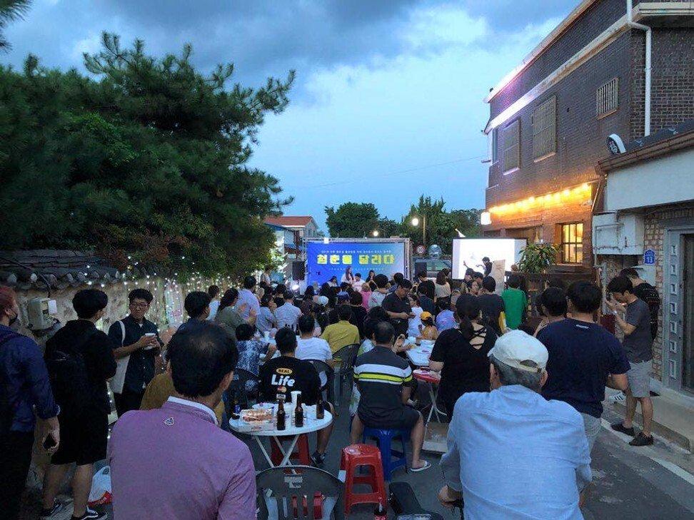 Tiệm cà phê Youth Alley của Noh ở Naju - một thành phố cách Seoul khoảng 285 km đang dần trở thành nơi thu hút giới trẻ. Ảnh: SCMP.