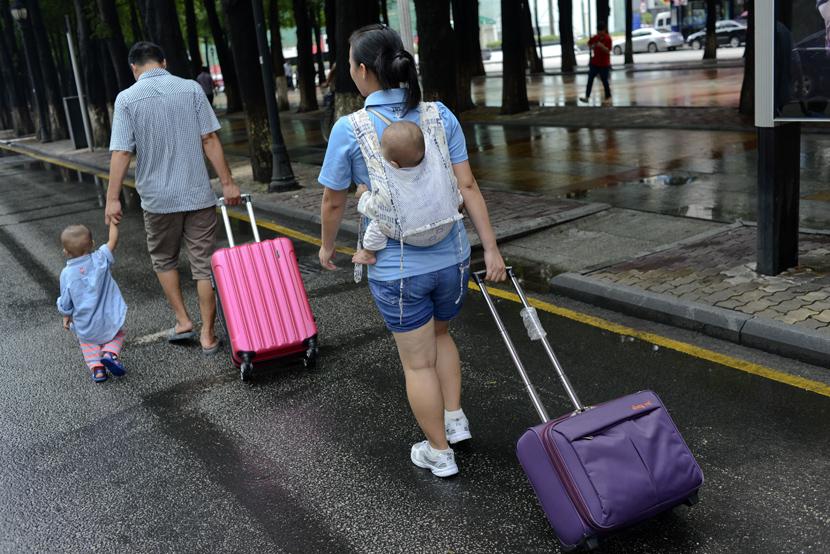 Các tỉnh miền Đông Trung Quốc phổ biến hình thức hôn nhân hai đầu. Ảnh: Sixthtone.