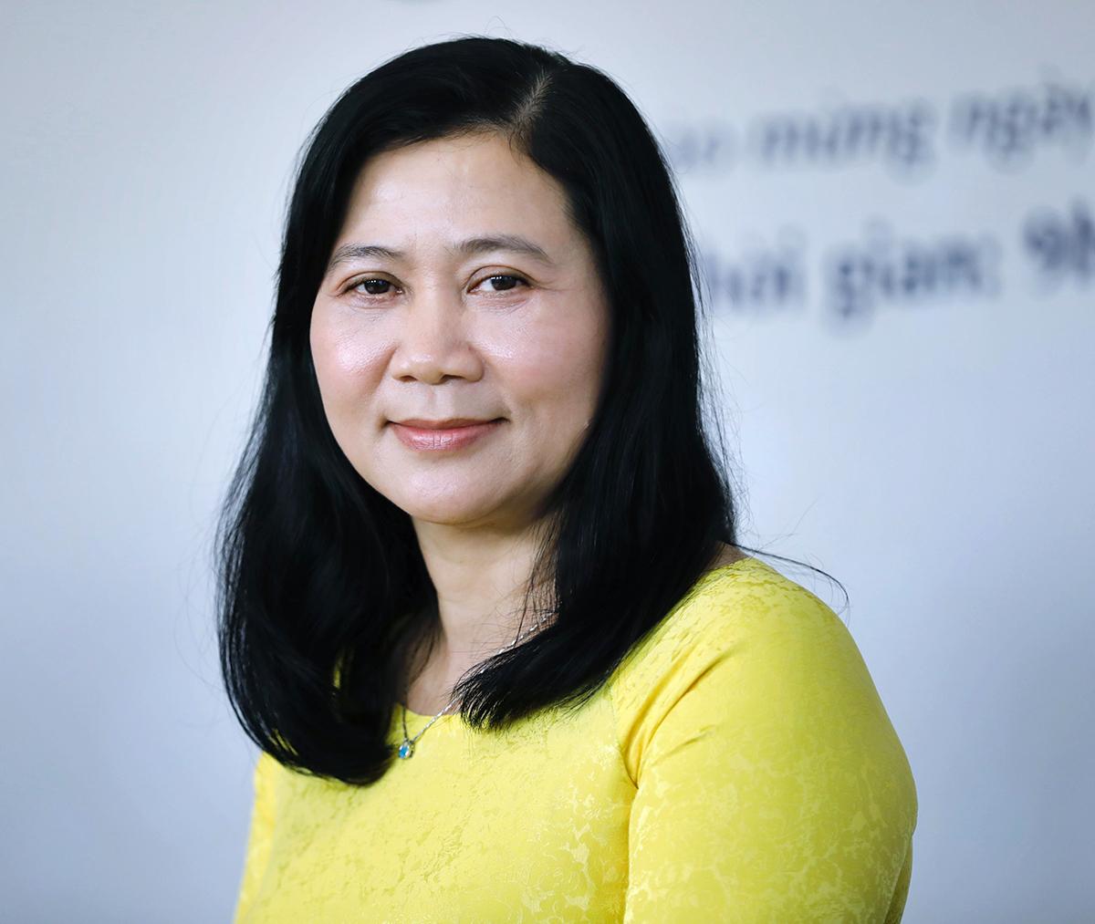Thạc sĩ, bác sĩ Nguyễn Thị Huỳnh Mai cho biết vững tin chống dịch nhờ sự ủng hộ từ gia đình, người thân.