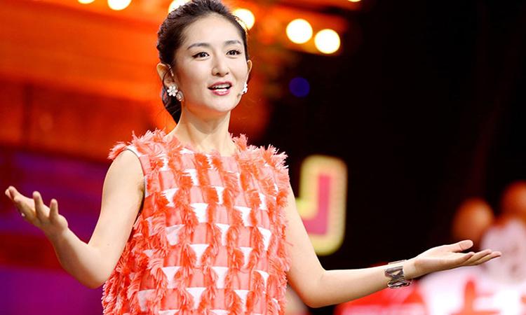 Nữ diễn viên Tạ Na của Trung Quốc. Ảnh: qq