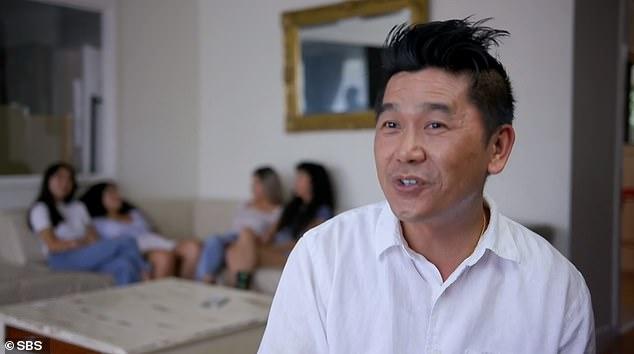 Thông qua cách dạy con của mình, Davy muốn các con không ngừng cố gắng như ông đã làm 38 năm trước, lúc một mình tị nạn đến Australia. Ảnh: SBS.