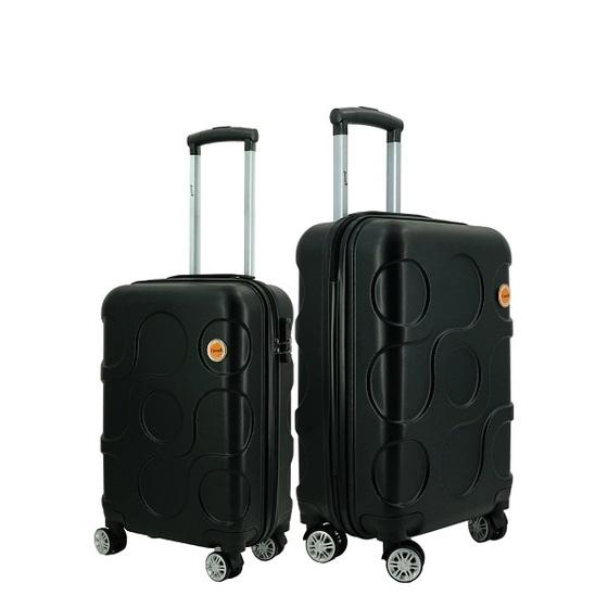 Bộ 2 vali du lịch Immax X12 size 20+24inch - Đen - Combo size 706.000đ(- 50 %)Chất liệu :    Nhựa ABS + PCsize 20 inch xách tay máy bay 7 kg hành lýsize 24 inch có thể để được 15-15 kg hành lýMàu sắc :    Đen,Đỏ,Xanh lá,Vàng hồngBảo hành 2 năm chính hãng cômg ty (thay phụ kiện miễn phí trong 2 năm nếu do lỗi sản xuất).* Chất liệu nhựa ABS + PC cứng cáp.* Cần kéo kim loại chắc chắn.* 4 bánh xe đôi xoay 360 độ, di chuyển được trên mọi địa hình.* Khóa mật mã 3 số an toàn, bảo mật tuyệt đối* Khoang chứa rộng rãi, vải lót ngăn mùi, chống ẩm mốc.* Quai xách làm từ cao su mềm giúp cầm nắm không bị đau tay.
