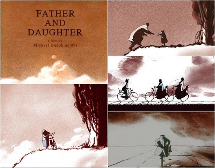 Bộ phim Cha và con gái đã lấy nhiều nước mắt của người xem khi kể về tình cha con. Ảnh: