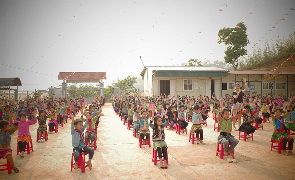 Xã Mít Nọt, huyện Tân Uyên, tỉnh Lai Châu là điểm đến đầu tiên của cổng ZingPlay trong chuỗi hành động vì cộng đồng