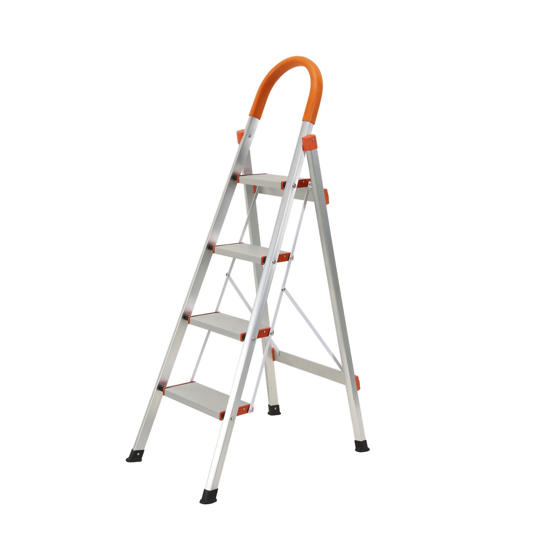 Thang nhôm gấp 4 bậc Kachi MK-149 - Bạc 1.090.000đ(- 36 %)Loại thang ghế có tay vịnChất liệu nhôm bền bỉ, chắc chắn & nhẹChịu được tải trọng lớnPhù hợp với nhiều mục đích sử dụng cho gia đình, căn hộ hay công trìnhđược thiết kế khung thang bằng nhôm chắc khỏe nhưng lại rất nhẹ nhàng cho việc di chuyển với cân nặng chỉ 3.8kg, nhưng chịu được tải trọng lớn lên đến 150kg. Chất liệu nhôm sẽ luôn sáng đẹp, không bị gỉ sét sau thời gian dài sử dụng.