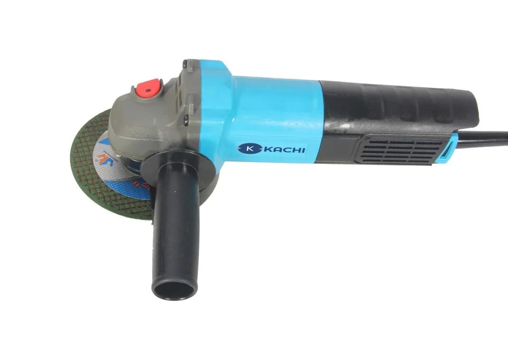Máy mài, cắt cầm tay đa năng Kachi MK190 + Tặng kèm lưỡi cưa xích (Kèm bộ phụ kiện) - Xanh 499.000đ(- 50 %)Model: MK-190Màu sắc: Xanh & đenChất liệu chính: Nhôm, động cơ đồngCông suất: 850WĐiện áp: AC220-240V/50-60HzKích thước máy mài: 30×7.5cmKích thước đóng gói: 35×14×12.5cmKhối lượng (N.w): 2.7kgKhối lượng (G.w): 2.98kgXuất xứ thương hiệu: Việt NamSản xuất tại: Trung QuốcMáy mài góc là một dụng cụ điện cầm tay đa năng nếu gắn đa mài thì có thể mài các mặt phẳng, khi gắn đá cắt thì biến thành máy cắt có thể cắt được cả sắt, và hơn nữa nó sẽ biến hóa chiếc máy mài góc thành máy cưa xích đa năng.