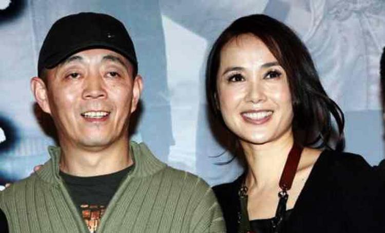 Vợ chồng đạo diễn Cố Trường Vệ và vợ, nữ diễn viên Tưởng Văn Lệ. Ảnh: sina.
