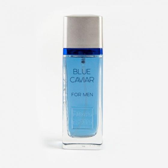 Nước hoa Paris Elysees Blue Caviar giảm còn 819.000 đồng; thuộc nhóm hương dương xỉ; với hương đầu gồm quả chanh vàng, cam Bergamot; hương giữa là cây xô thơm, hoa oải hương; hương cuối có gỗ tuyết tùng, đậu tonka.