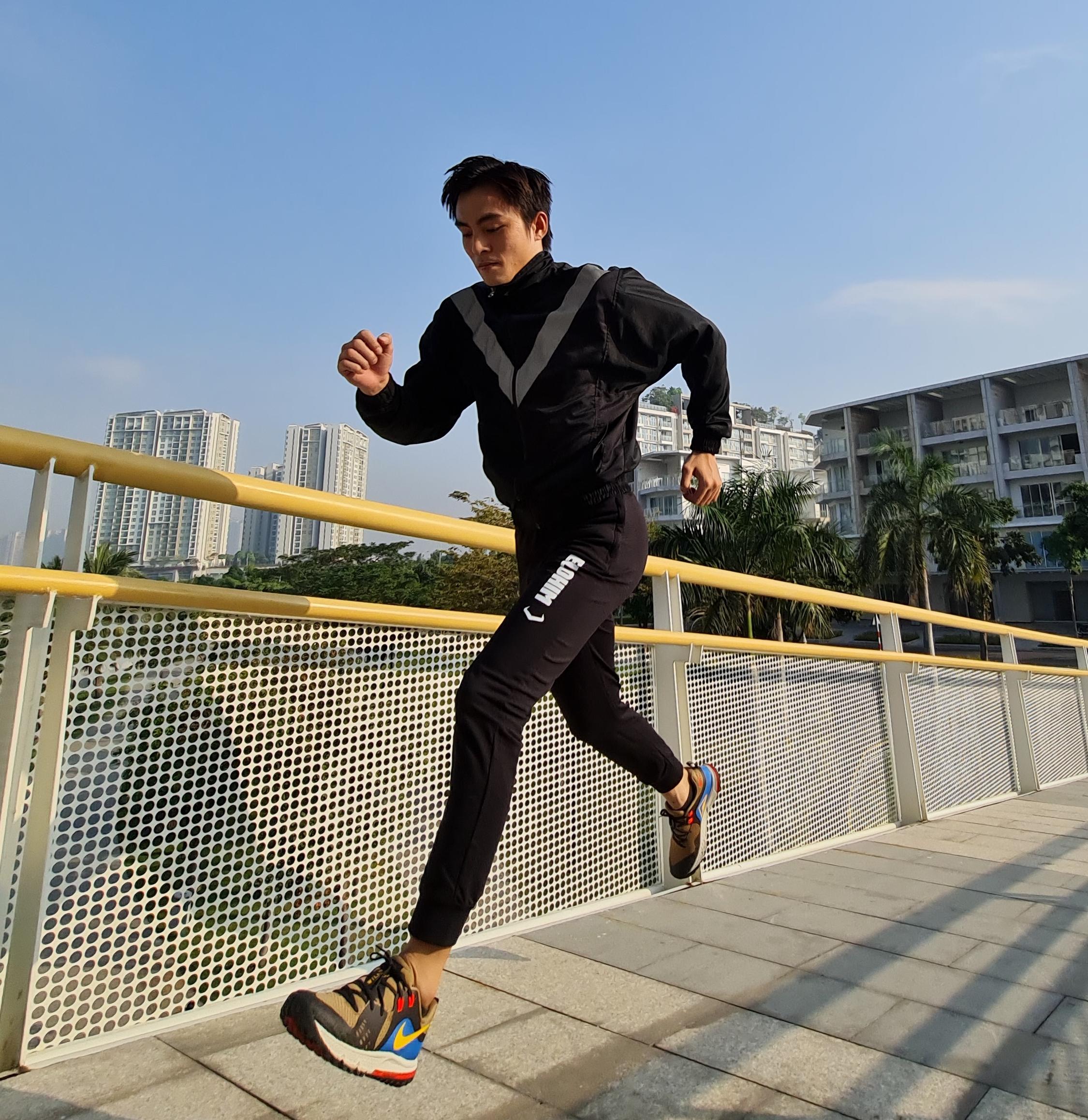 Runner có thể tập luyện ở nhưng địa điểm phù hợp, an toàn trong mùa dịch.