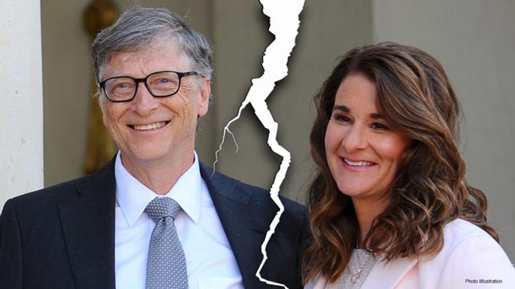 Vợ chồng tỷ phú Bill Gates và Melinda Gates ly hôn sau 27 năm chung sống. Ảnh: Getty