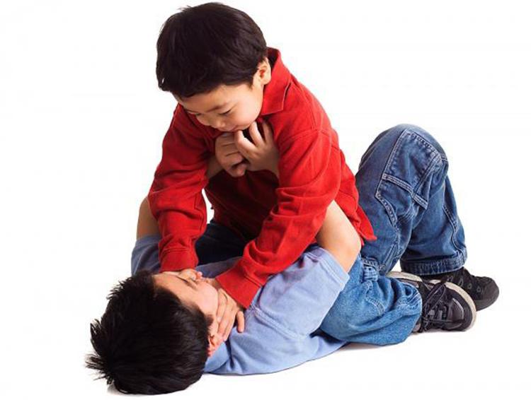 Phụ huynh cần quan tâm để giúp con có cách giải quyết thích hợp khi bị bạn bắt nạt. Ảnh minh họa: shutterstock