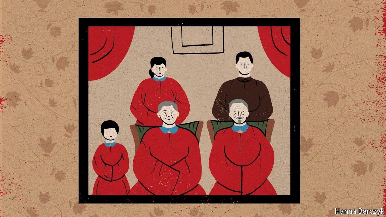 Chính sách một con kéo dài hàng chục năm khiến nhiều bậc cha mẹ Trung Quốc phải có những tính toán khi con cái kết hôn và chuẩn bị cho tuổi già của mình. Minh họa: Economist.