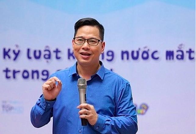 PGS.TS Trần Thành Nam, Chủ nhiệm Khoa Các Khoa học giáo dục (Đại học Giáo dục, Đại học Quốc gia Hà Nội). Ảnh: Thành Nam.