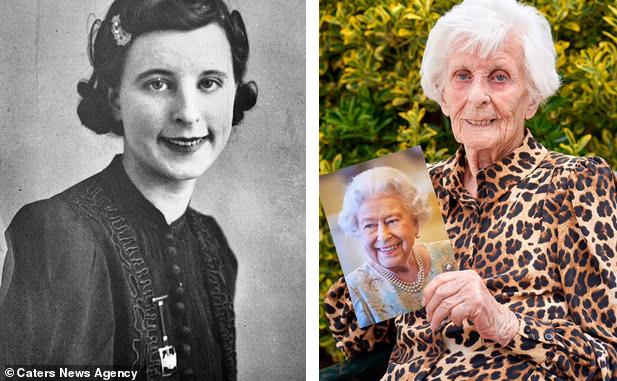 Thời trẻ cụ Rose làm việc trong một nhà máy sản xuất vũ khí cho Thế chiến II. Ảnh: Dailymail.