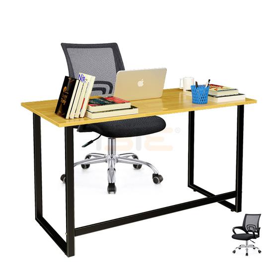 Bộ bàn Rec-F đen và ghế IB517 đen - IBIE - Nâu 1.784.670đ (- 40 %)Mặt bàn gỗ tự nhiên, tẩm sấy và sơn PU kỹ càng.- Khung bàn sơn tĩnh điện cao cấp, bền đẹp.- Tiết kiệm không gian, dễ dàng di chuyển- Kết cấu chắc chắn, an toàn.- Ghế có thể điều chỉnh độ cao, thoải mái khi ngồi.- Thiết kế lưng cong, hỗ trợ cột sống.Mặt bàn hình chữ nhật có kích thước tiêu chuẩn 120 x 60 cm rộng rãi (có thể điều chỉnh theo yêu cầu), để được nhiều đồ dụng học tập và làm việc như máy vi tính, sách báo, lọ hoa... Trên mặt bàn được đục sẵn lỗ thông dây điện để bạn có thể nối dây cắm laptop, điện thoại, máy móc... với ổ cắm điện rất gọn gàng, tiện lợi.Ghế lưới văn phòng IB517 có thiết kế thanh lịch đẹp mắt, kết cấu chắc chắn, an toàn. Thiết kế uốn cong thông minh giúp cân bằng trọng lượng cơ thể, hỗ trợ cột sống vùng thắt lưng, bảo vệ sức khỏe. Lòng ghế hơi trũng uốn cong theo vòng hông giữ vai và dáng người ngồi được thẳng, giảm thiểu tối đa các triệu chứng nhức mỏi trong môi trường làm việc lâu dài đồng thời tăng thêm tính thẩm mỹ cho sản phẩm. Mép ghế bo dạng thác đổ, làm giảm áp lực lên đùi, chống tê mỏi. Tay ghế thoải mái giúp người ngồi nghỉ ngơi, thư giản. Bộ li hợp hiện đại với cần để nâng hạ độ cao giúp người dùng có thể dễ dàng điều chỉnh cho phù hợp với vóc dáng.
